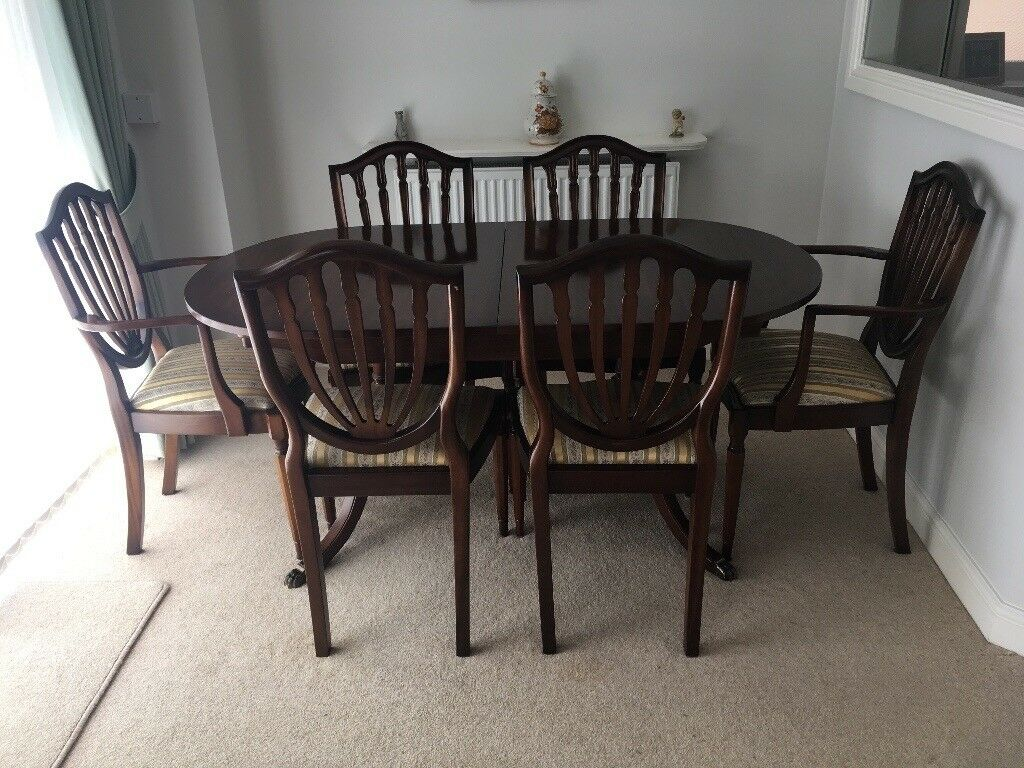 Mahogany Dining Table with 6 chairs   in Kenilworth ...