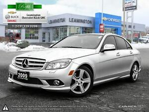 2009 Mercedes-Benz C-Class CLEAN CARPROOF LUXURY AWD V6 3.0 LT