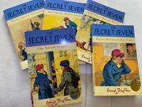 The Secret Seven, paperback, 5 in total, good condition, pet & smoke free home