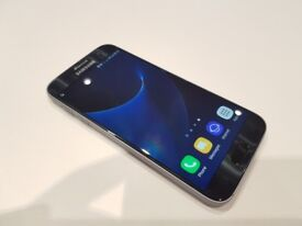 Samsung Galaxy S7 32GB Black - No Scratches or Cracks - Good Condition