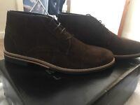 Men's size 7 BNIB suede boots
