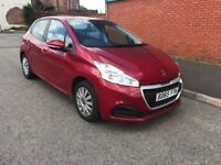 PEUGEOT 208 LOW MILES 65 PLATE