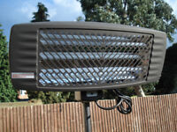 *BRAND NEW* OPTIMA FLOOR STANDING OUTDOOR PATIO HEATERS 2000W - PERFECT FOR SUMMER BBQ MARQUEE
