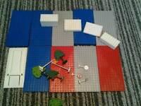 Job lot of lego boards etc