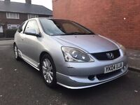HONDA CIVIC 1.6 S TYPE LONG MOT