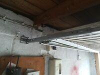 Garador garage door and electric opener
