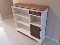 **** OLD CHARM ORIGINAL BOOKCASE, BIBLE HOLDER, UPCYCLED AND IN FANTASTIC CONDITION ****