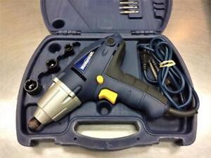 Impact électrique HEX Mastercraft + case + accessoires ***Testé et Garanti***  #F026091