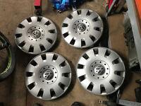 "vw 16"" wheel trims"