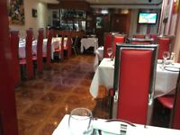 UP AND RUNNING INDIAN RESTAURANT FOR LEASE/RENT INC ALL FIXTURES AND FITTINGS