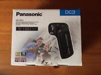 Panasonic DC3 full had camcorder.