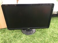 "Dell 24"" Full HD 1080p Widescreen LCD Computer Monitor 1920x1080"