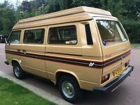 STUNNING VW T25 AUTOSLEEPER TROOPER 73,000 GEN MILES WITH FULL LEATHER INTERIOR, STAINLESS EXHAUST