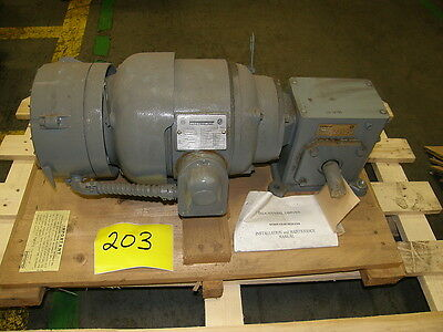 Sterling Electric Motor B184c And Reducer 151 Newnew