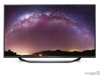 """Lg 40"""" inch Slim 4K UHD Ultra HD LED TV with Freeview HD + 2x HDMI + USB, Perfect for Gamers"""