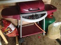 Barbeque with gas bottle!