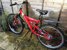 Apollo Excelle MTB 26in wheels 16in frame