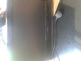 wall mount tv ideal for kids bedroom freeview dvd built in