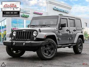 2014 Jeep Wrangler Unlimited Sahara *4X4, 4DR, AUTO* Windsor Region Ontario image 1