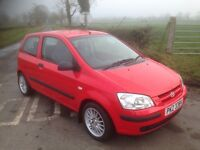 Hyundai Getz 1.1 Gsi 3door with MOT until November 2017