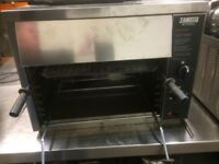 Salamander Grill Zanussi Jet Grill Natural Gas ,Very Good Clean Condition