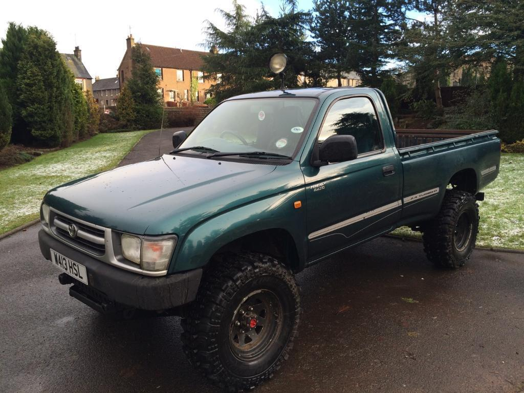 2000 toyota hilux 2 4td single cab 4x4 in forfar angus gumtree. Black Bedroom Furniture Sets. Home Design Ideas
