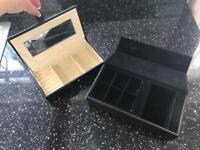2 x jewellery boxes