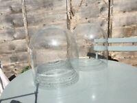 x2 Habitat Liv Bubble Glass Pendant Shades