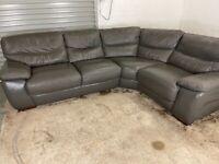 Grey dfs corner sofa, couch, suite, furniture 🚚🚛🚚🚛