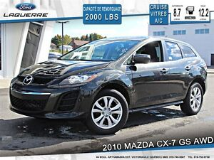 2010 Mazda CX-7 **GS*AWD*AUTOMATIQUE*CRUISE*A/C**