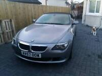 Bmw 630i msport convertible with i-shift