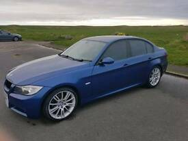 Bmw 320i MSport Le mans blue