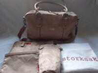 Storksak Elizabeth Baby Change Bag with Change Mat & Accessories RRP £199
