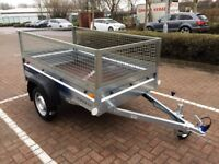 Faro Pondus car box trailer + 40 cm mesh 750kg