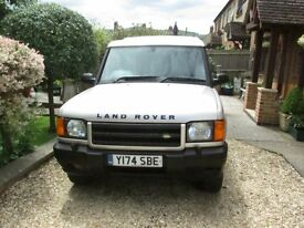 Land rover discovery td5 with new mot