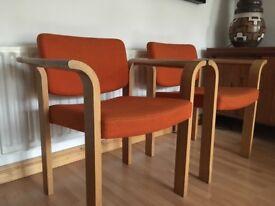 Vintage Retro Danish Lounge Chairs (£85 each)