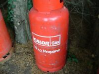 Calor Gas 'Empty' 19kg Propane gas bottle, can be delivered