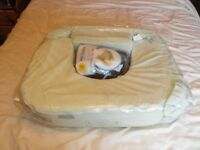 My Brest Friend - Deluxe Feeding And Nursing Pillow, Twins and multiples (inc spare cushion cover).