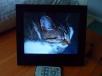 Proline 8inch Digital Photo Frame with User Manual and remote