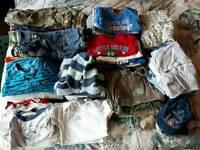 Big bundle boys clothes 12-18 months