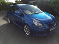 Vauxhall Corsa 1.6T 16v VXR 3dr (blue) 2007