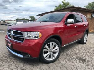 2011 Dodge Durango Crew Plus AWD NAVIGATION LEATHER MOONROOF