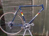 Superb Vintage Peugeot Elan Racing Bike Frame Classic Retro Race Cycle
