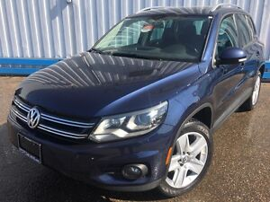 2012 Volkswagen Tiguan Comfortline 2.0 TSI AWD*LEATHER-SUNROOF*