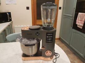 Crux 1200watt 8Speed Food Mixer With 1.5 Glass Blender