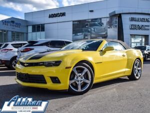 2014 Chevrolet Camaro 2SS Convertible 6 speed