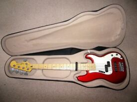 Bass Guitar Foam Case. Very Good for Fender , Squier , Ibanez and other Basses.