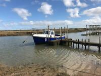 Romany 21ft fishing boat swap px