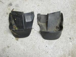 2002 honda civic original rear mud flaps