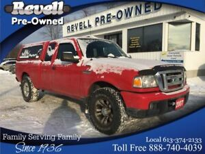 2007 Ford Ranger XLT 4X4 *1-Owner, Power Windows & Locks, Cap